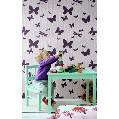 ferm LIVING Butterflies Kids Wallpaper