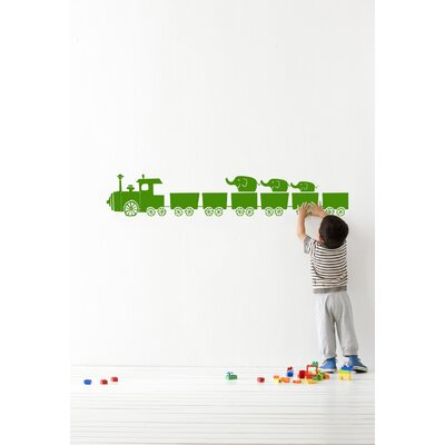 ferm LIVING Tiny Train Wallsticker