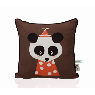 ferm LIVING Posey Panda Organic Cotton Pillow