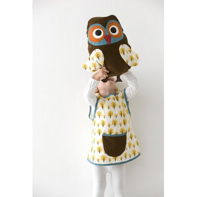ferm LIVING Owl Cushion