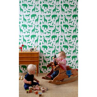 ferm LIVING Animal Farm Kids Wallpaper