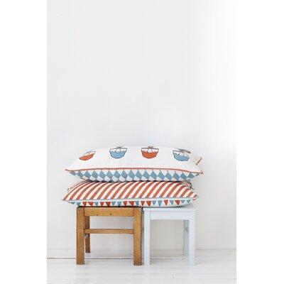 ferm LIVING Tiny Train Organic Cotton Cushion