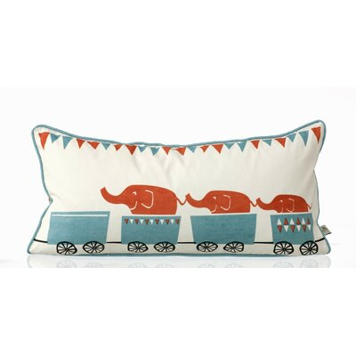 ferm LIVING Tiny Train Organic Cotton Cushion