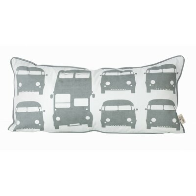 ferm LIVING Kids Rush Hour Organic Cotton Pillow