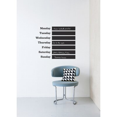 ferm LIVING This Week Wall Sticker