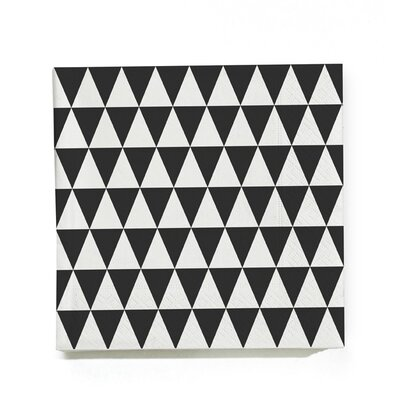 ferm LIVING (20 per Carton) Triangle Napkin