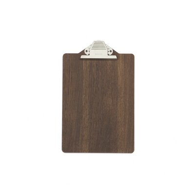 ferm LIVING Smoked Oak Clipboard