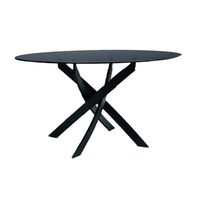 Bontempi Casa Barone 3 Piece Round Dining Table with Shark Chairs