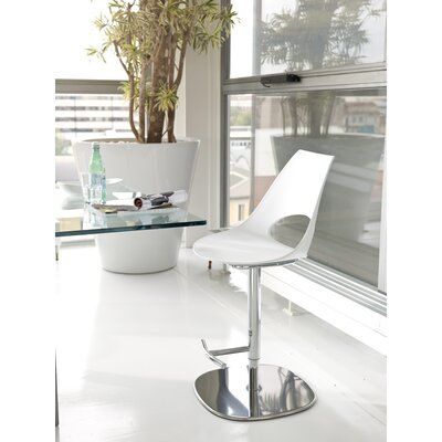"Bontempi Casa Shark 22"" Adjustable Bar Stool"