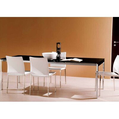 Bontempi Casa Bontempi Casa 3 Piece Keyo Table Set with Kida Chairs
