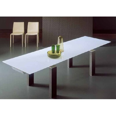 Bontempi Casa Mistral 3 Piece Dining Table Set with Linda Chairs