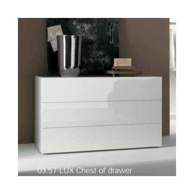 Lux 3 Drawer Dresser