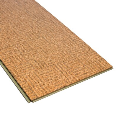 "Home Legend 11-3/4"" Engineered Hardwood Cork Flooring in Natural"