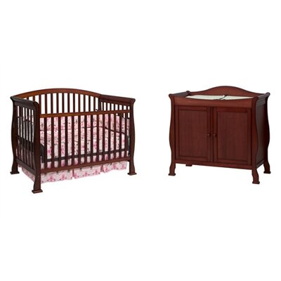 DaVinci Thompson 4-in-1 Convertible Crib Set with Toddler Bed Conversion Kit