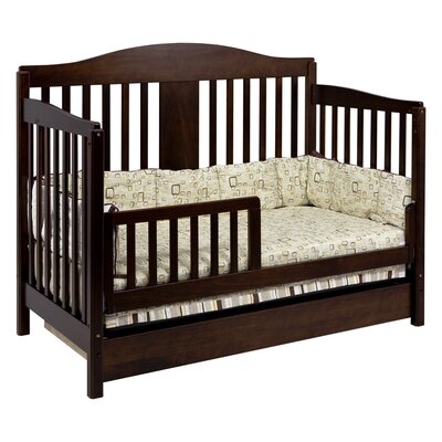 DaVinci Richmond 4-in-1 Convertible Crib Set with Toddler Bed Conversion Kit
