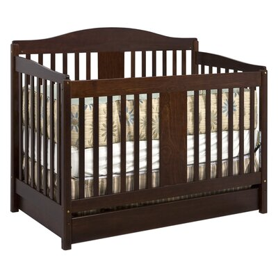 Richmond 4-in-1 Convertible Crib with Toddler Bed Conversion Kit