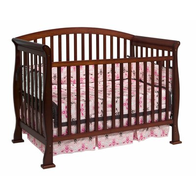 DaVinci Thompson Three Piece Convertible Crib Nursery Set  with Toddler Rail in Cherry