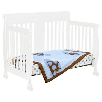 DaVinci Porter 4-in-1 Convertible Crib Set with Toddler Bed Conversion Kit