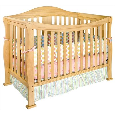 DaVinci Parker Three Piece Convertible Crib Nursery Set with Toddler Rail in Coffee