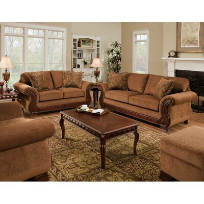 American Furniture Dixon Chenille Sofa