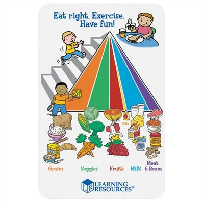 Learning Resources 55 Piece Healthy Foods Play Set