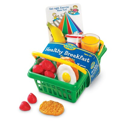 Learning Resources Pretend and Play® Healthy Breakfast set