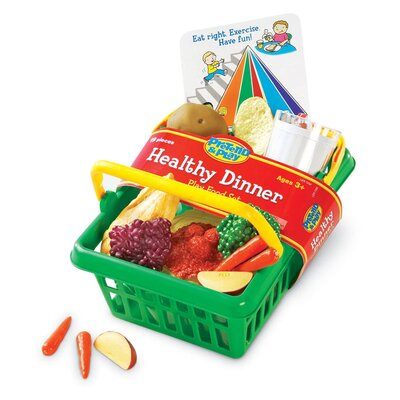 Learning Resources Pretend and Play Healthy Dinner Basket