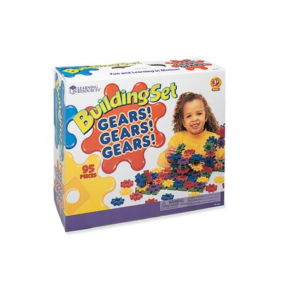 Learning Resources Gears! Gears! Gears!® Beginner's Building Set