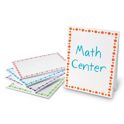 Learning Resources Center Signs 5 Piece Set