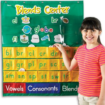 Learning Resources Blends Center Pocket Chart