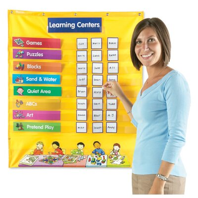 Learning Resources Early Learning Centers Pocket Chart