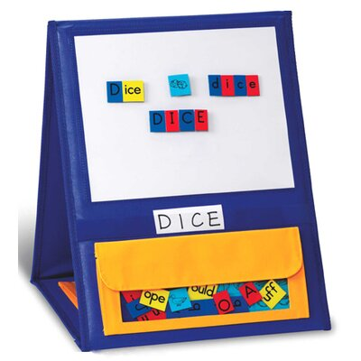 Double-sided Magnetic Tabletop Pocket Chart
