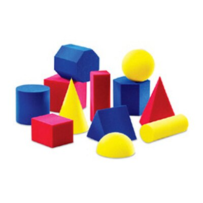 Learning Resources Everyday Shapes Activity 12 Piece Set