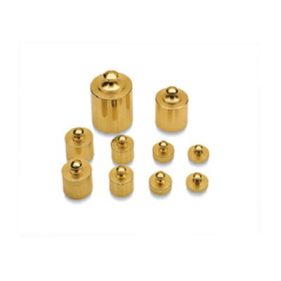 Learning Resources Brass Mass Set 10/pk Precision