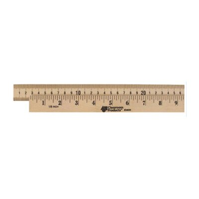 Learning Resources Wooden Meter Stick Plain Ends