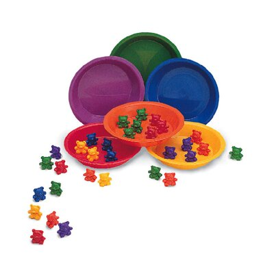 Learning Resources Baby Bear Sorting Set 102 Bears 6
