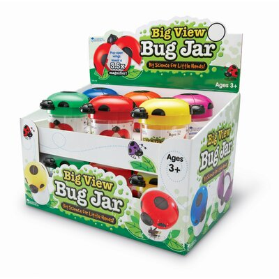 Big View Bug Jar (POP Display) (Set of 12)
