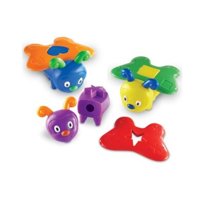 Learning Resources Shape Butterflies (Set of 15)