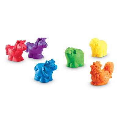 Learning Resources Jumbo Farm Counter (Set of 30)