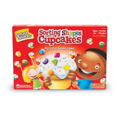 Learning Resources Sorting Shape Cupcakes Game