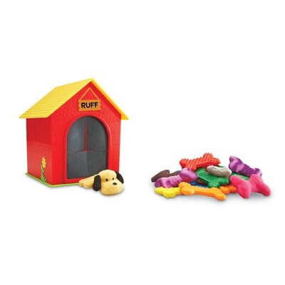 Learning Resources Ruff's House Teaching Tactile (Set of 23)
