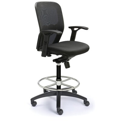 Valo Height Adjustable Drafting Polo Chair with Mesh Back