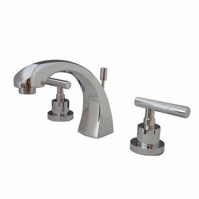 Elements of Design Tampa Widespread Bathroom Faucet with Double Lever Handles