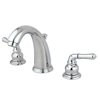 Widespread Bathroom Faucet with Double Modern Lever Handles - EB98