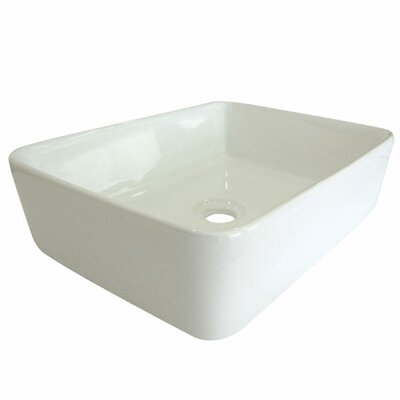 Elements of Design French Petite Vessel Bathroom Sink