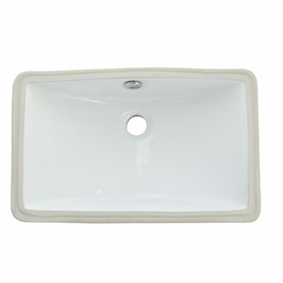 Courtyard Undermount Bathroom Sink - ELB18127