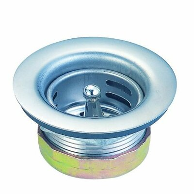 Elements of Design Duo Strainer For Bar Sink with Nut