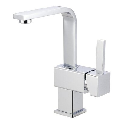 Elements of Design Single Hole Bathroom Faucet with Double Metal Lever Handles