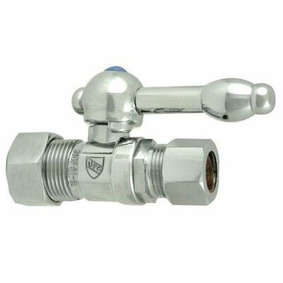Elements of Design Decorative Quarter Turn Valves with Knight Lever Handles