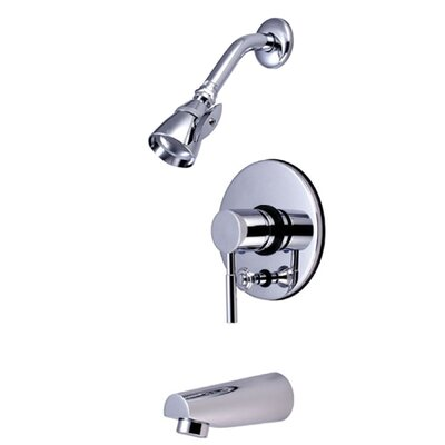 Elements of Design South Beach Pressure Balance Tub and Shower Faucet Trim